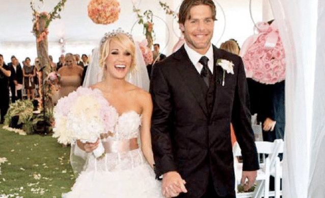 Carrie Underwood and Mike Fisher wedding