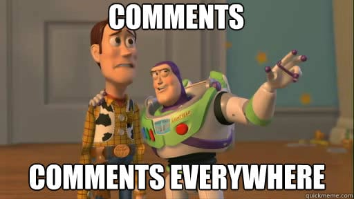Read more about the article New feature: Easily comment on stories