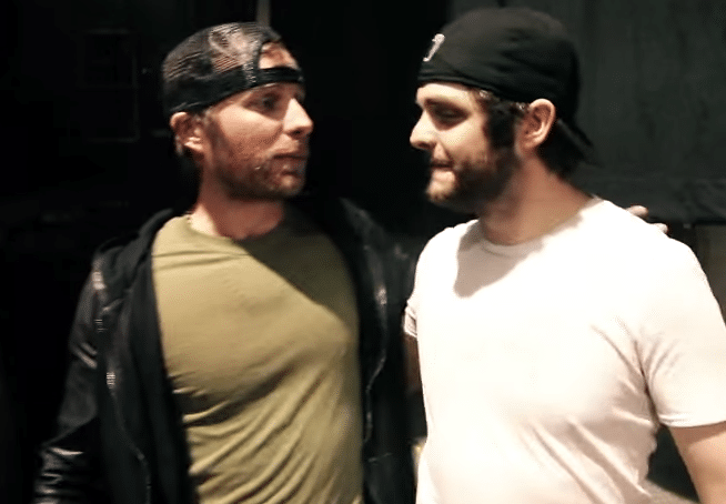 Dierks Bentley and Thomas Rhett walk into a (mermaid) bar