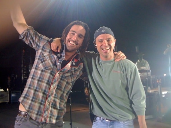 Kenny Chesney and Jake Owen Work on Their Fitness Together