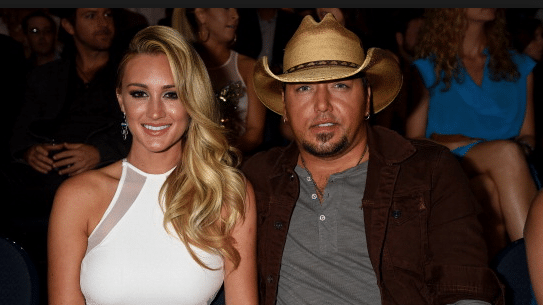 Read more about the article No Jason Aldean/Wife duet in the future…