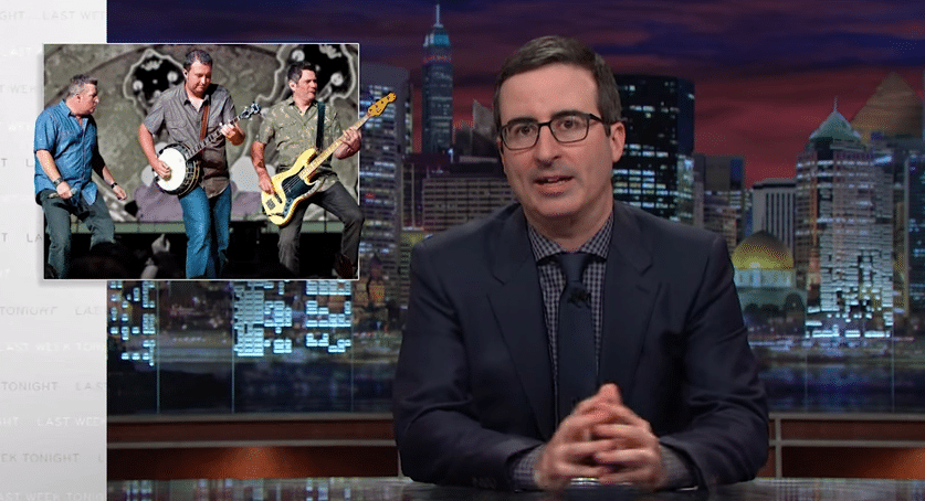 What does Last Week Tonight host John Oliver have against Rascal Flatts?