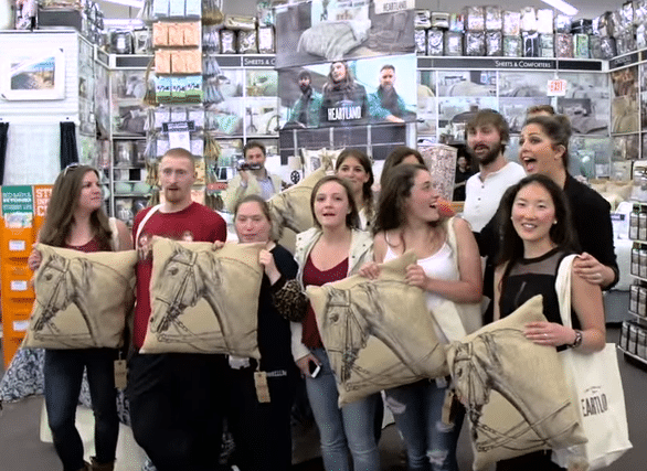 Lady Antebellum surprises fans at a Bed Bath & Beyond