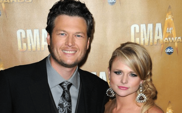 "Blake Shelton Says Miranda Lambert Is Still His ""Buddy"""