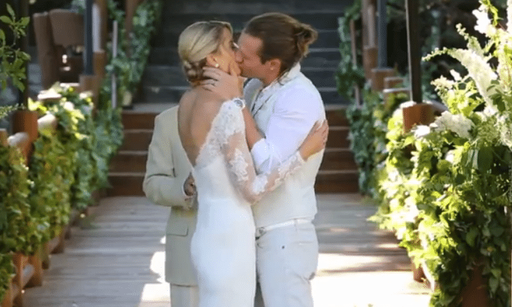 Read more about the article Florida Georgia Line's Tyler Hubbard shares wedding video, photo of wedding rings