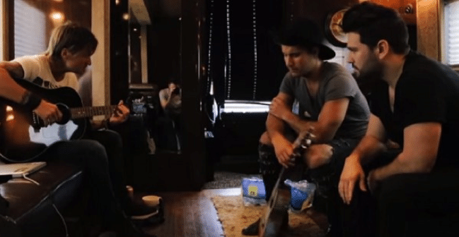Read more about the article Keith Urban and Dan + Shay Form Boy Band