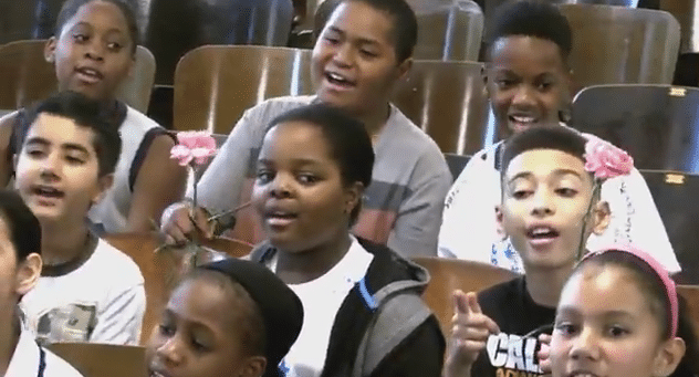 Internet Sensation PS22 Chorus Serenades Cancer Stricken Teacher