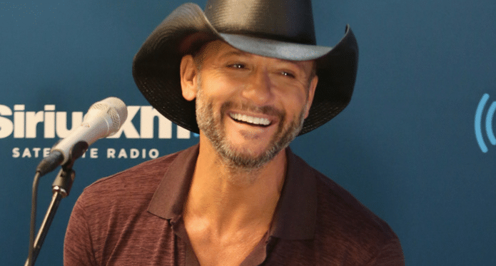 Tim McGraw Is on Top of the World