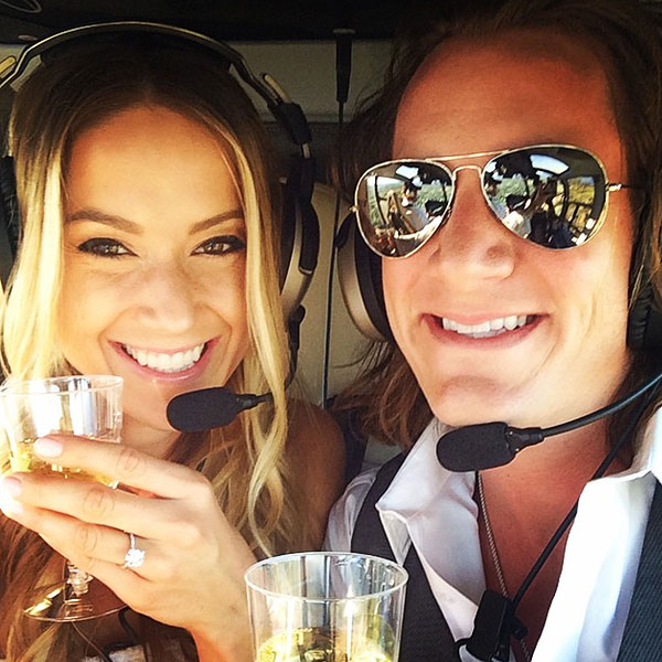 Tyler Hubbard and Hayley Stommel
