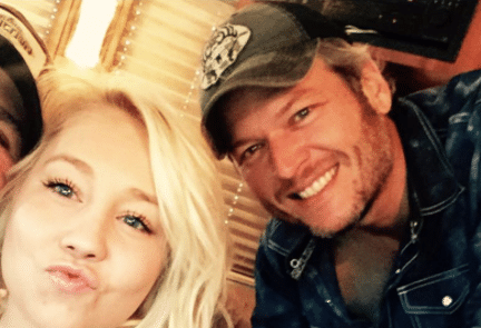 Blake Shelton surfaces with another blonde…