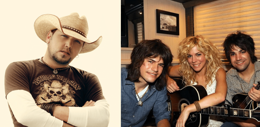 Jason Aldean and The Band Perry are this week's MOST ADDED…