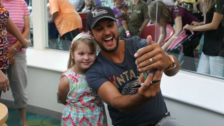 "Luke Bryan's ""Play it Again"" Has Never Sounded So Sweet"