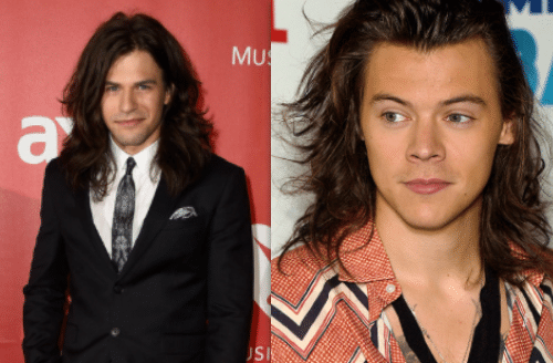 Whose hair is better: Reid Perry or Harry Styles?