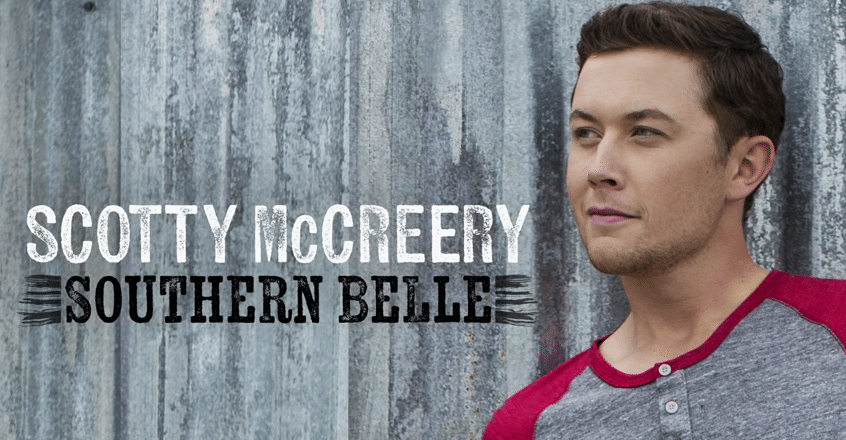 """Scotty McCreery Releases Lyric Video for """"Southern Belle"""""""