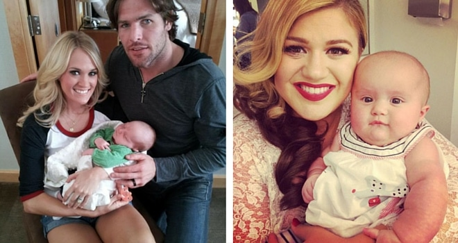 Read more about the article Carrie Underwood & Kelly Clarkson's Babies are On Fleek
