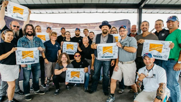 The Zac Brown Band are really good dudes: Helping Out Wounded Warriors..