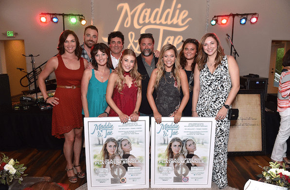 Maddie & Tae Celebrate Platinum Single!