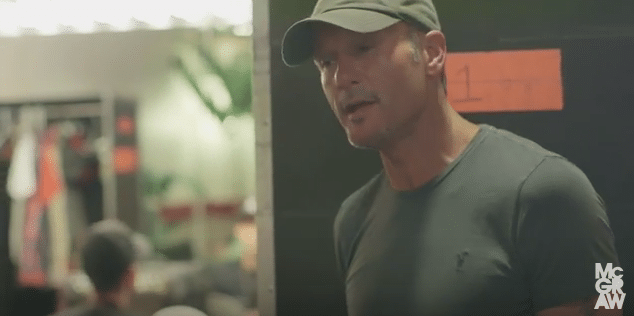 Tim McGraw Gets Apologetic Before Show (Watch!)