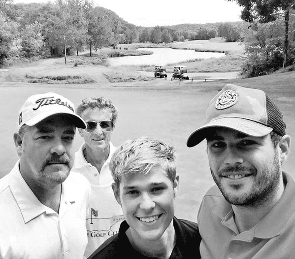 Mason Dye's Golf Outing with Jackie Lee