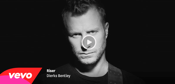 Dierks Bentley debuts Riser video on The Guardian