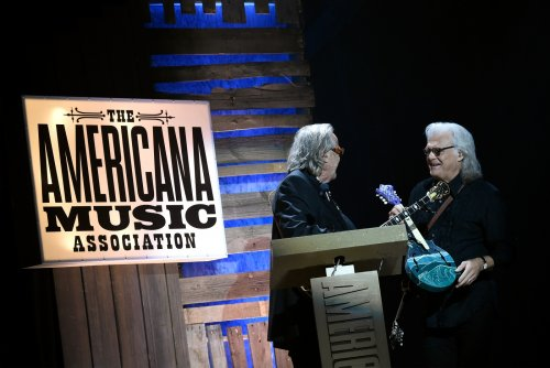 Ricky Skaggs Receives Lifetime Achievement Award from Americana Music Association