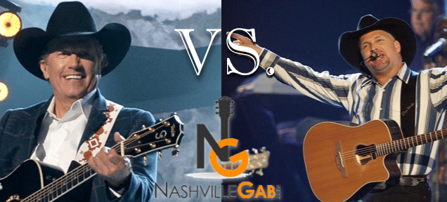 Garth Brooks or George Strait?!
