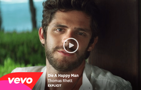 Read more about the article Thomas Rhett's Die A Happy Man Music Video TOO explicit?!