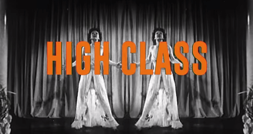 Eric Paslay's new lyric video for High Class is like a walk down memory lane on acid