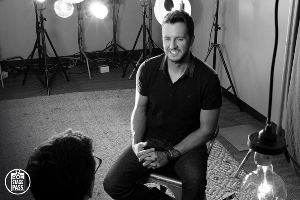 Walmart and #AXEStagePass Give You Your Backstage Pass to Luke Bryan