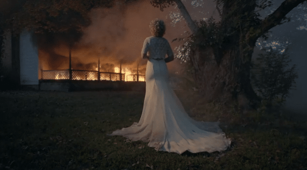 """Read more about the article Cam burns down a real house for new """"Burning House"""" video"""