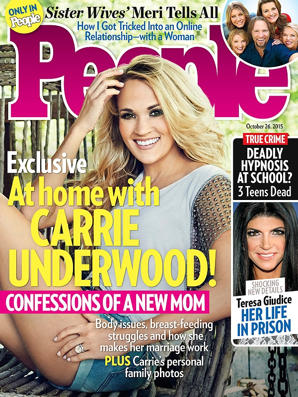 Carrie Underwood People magazine