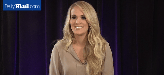 Carrie Underwood is pretty good at faking a British accent