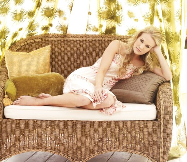 Carrie Underwood lounging