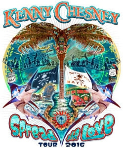 Kenny Chesney spread the love tour dates