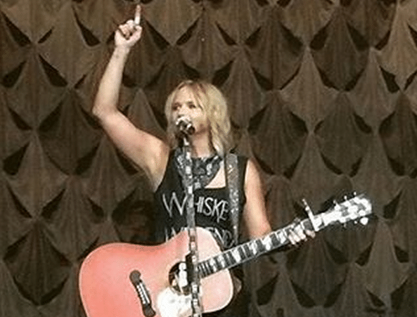 Giveaway time! Win a fun Whiskey Weekend t-shirt like the one Miranda Lambert wore in concert recently