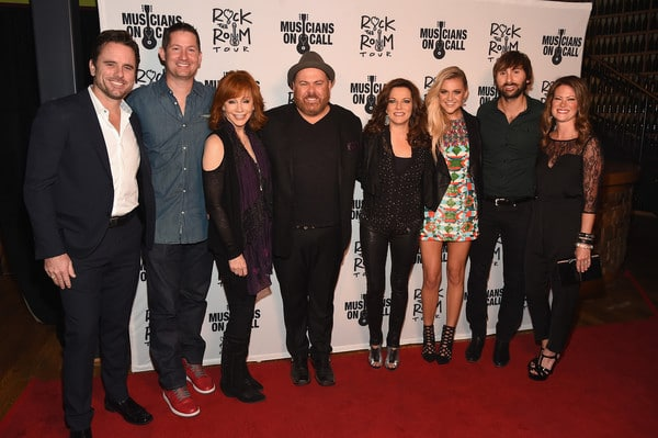 Read more about the article Reba, Martina, and Kelsea Rocked the Room with Musicians On Call