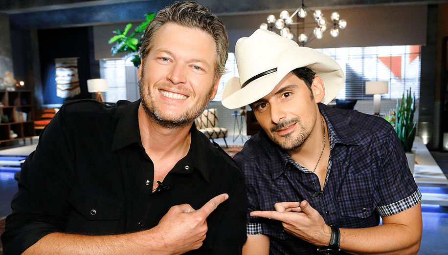 "Blake Shelton and Brad Paisley Join Forces on ""The Fireman"""