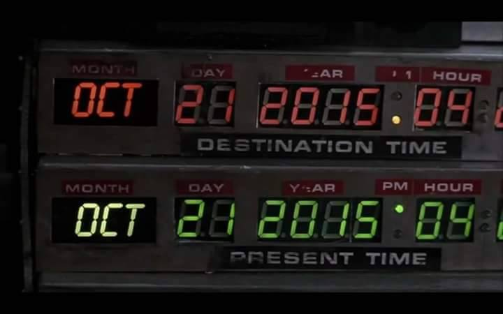 Back to the Future Day – Number 1 Song Then and Now