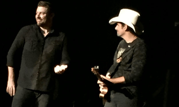 Chris Young Surprises Nashville Crowd with Brad Paisley (Watch!)