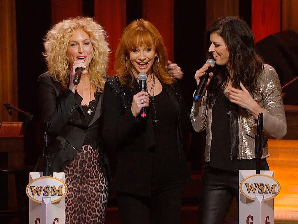 Reba and the Girls of Little Big Town Make Surprise Nashville Appearance