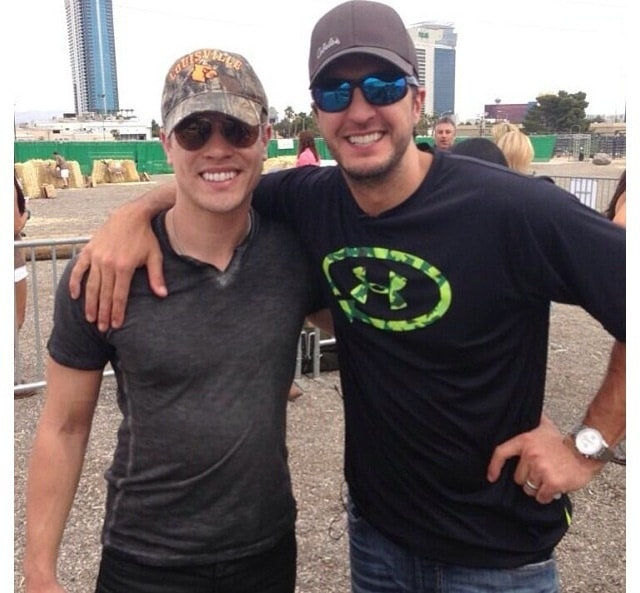 Luke Bryan Shares Shirtless Pics of Dustin Lynch…and We're Not Mad