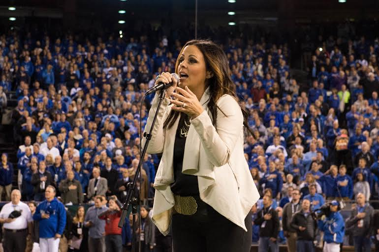 Sara Evans Proves to Be Missouri Royalty (Watch!)