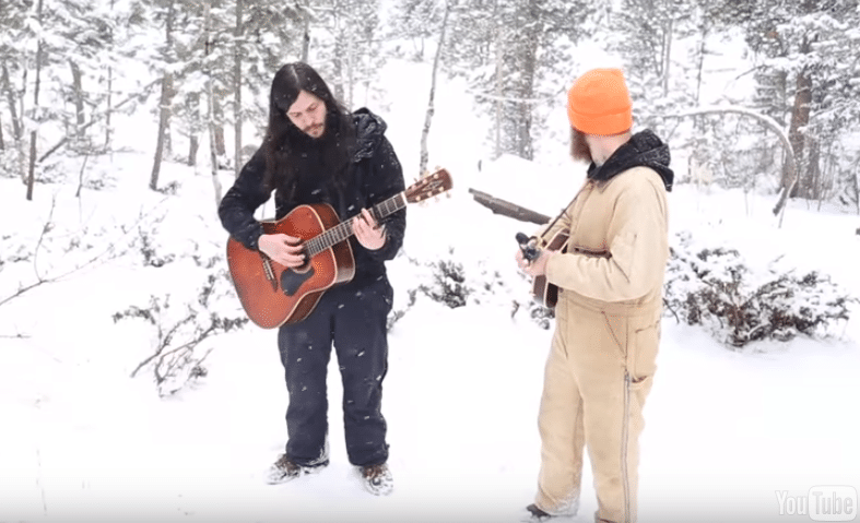 Listening to wolves sing along with these guys is probably the coolest thing you'll hear today