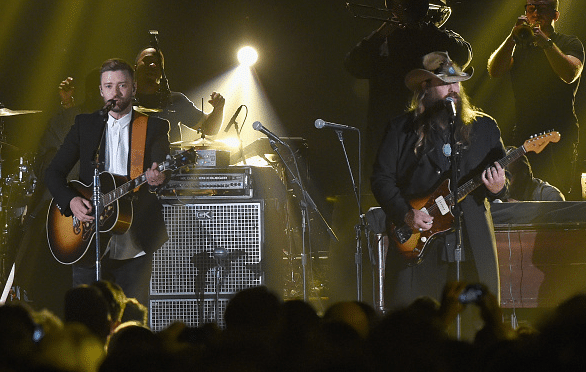 Chris Stapleton and Justin Timberlake create magic on the CMA Awards stage