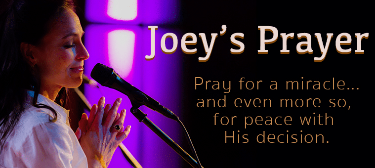 Country stars say a prayer for Joey+Rory's Joey Feek