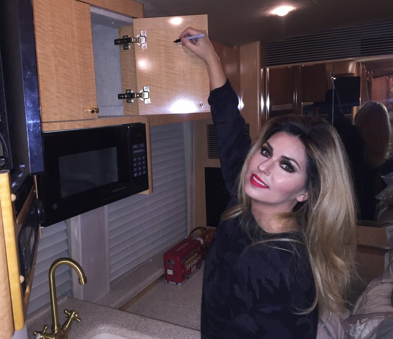 Shania Twain's tour bus sells for big money at Halloween auction