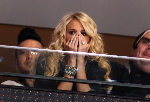 Turns Out Carrie Underwood ISN'T Perfect