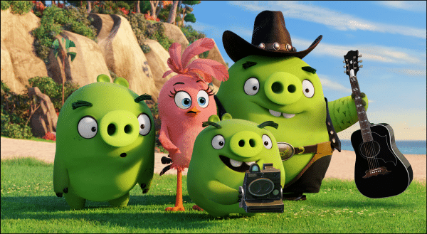 Blake Shelton Angry Birds movie