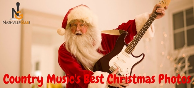 Country Music's Best Christmas Photos