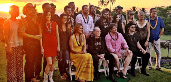 Kacey Musgraves joins Willie Nelson in Hawaii